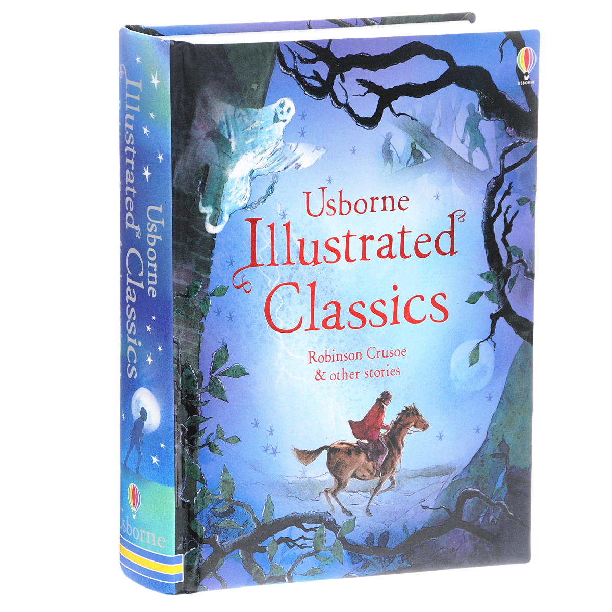 Usborne Illustrated Classics: Robinson Crusoe & Other Stories travels of the zephyr journey around the world