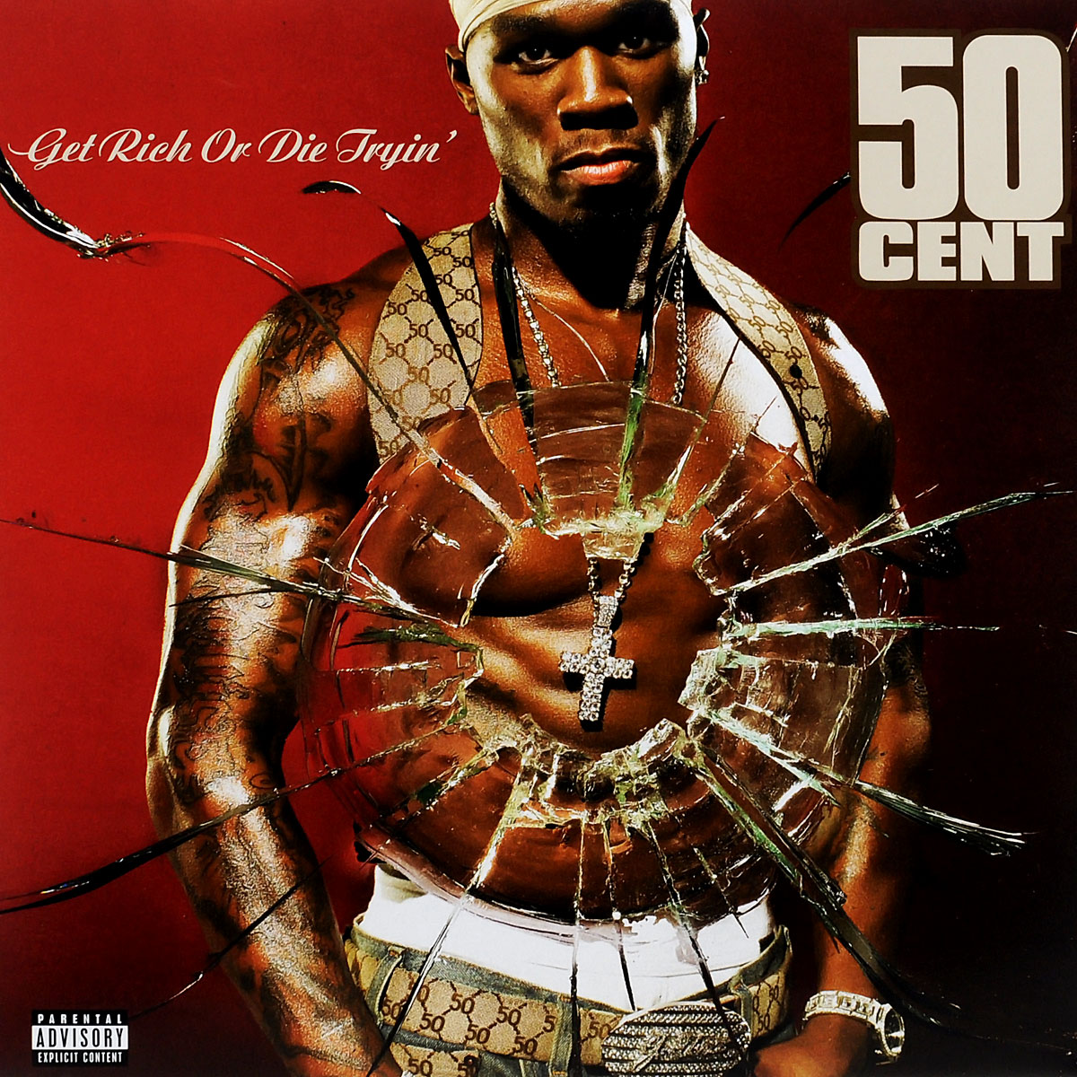 50 Cent 50 Cent. Get Rich Or Die Tryin' (2 LP)