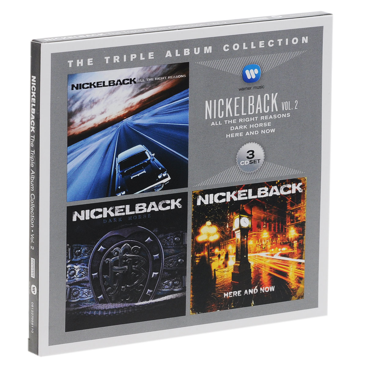 Nickelback Nickelback. The Triple Album Collection. Vol. 2 (3 CD) powers the definitive hardcover collection vol 7