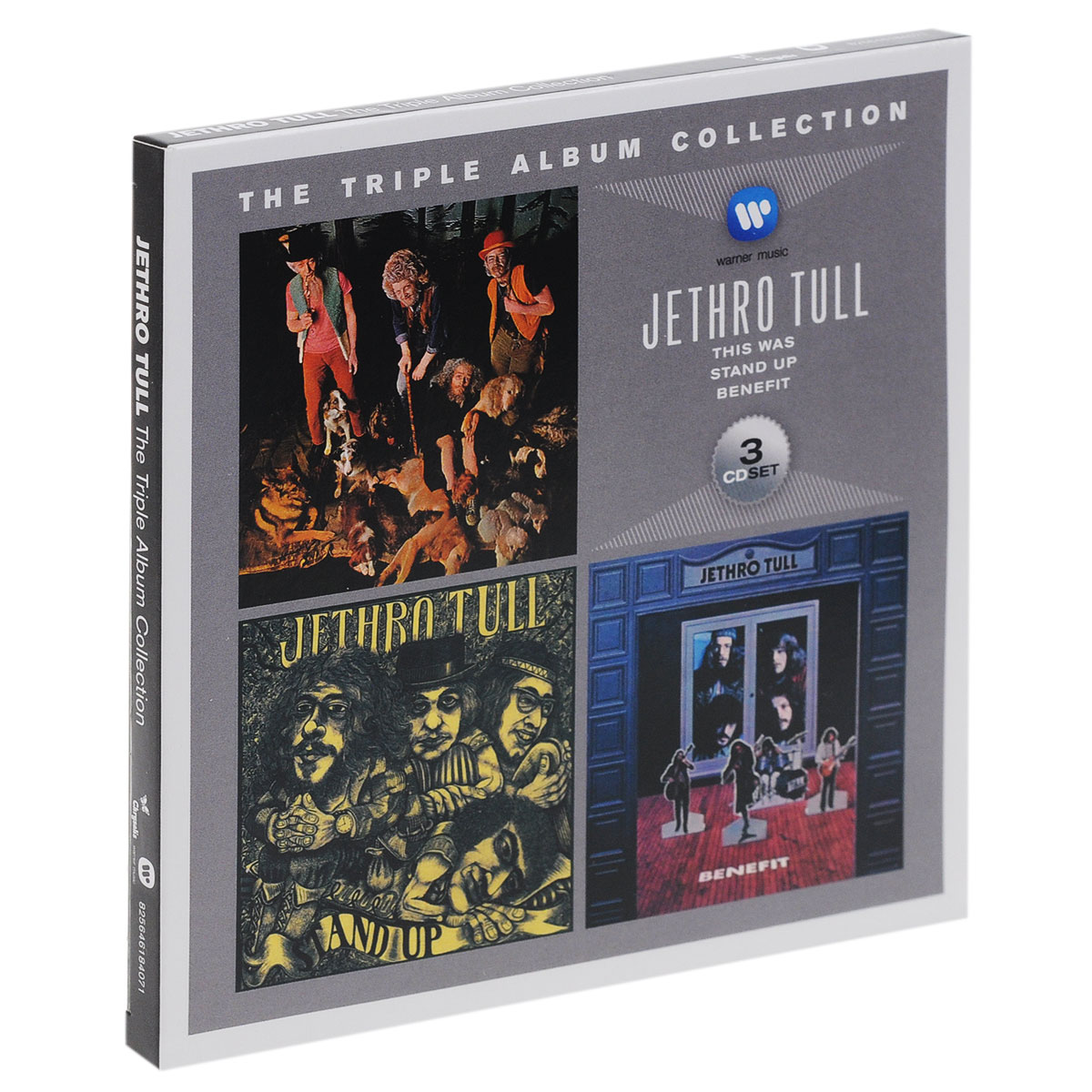 Jethro Tull Jethro Tull. The Triple Album Collection (3 CD) jethro tull jethro tull the triple album collection 3 cd