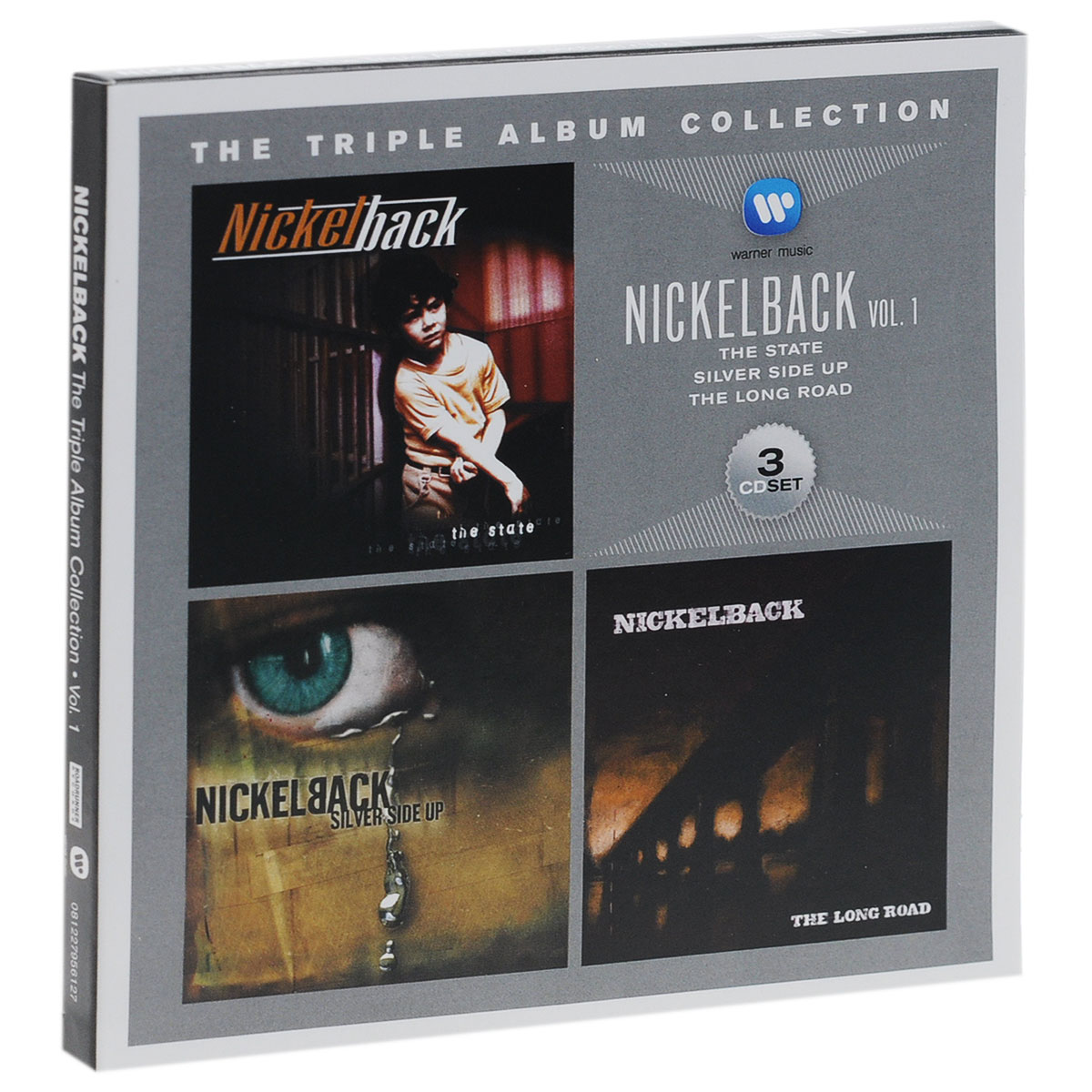 Nickelback Nickelback. The Triple Album Collection. Vol. 1 (3 CD) powers the definitive hardcover collection vol 7