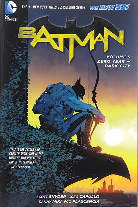 Batman: Volume 5: Zero-Year - Dark City batman 66 volume 3