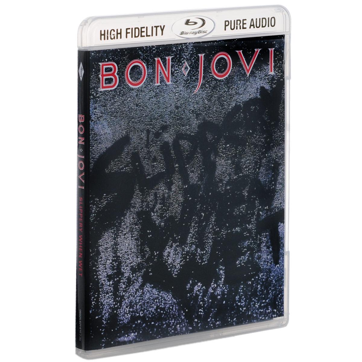 Джон Бон Джови Bon Jovi. Slippery When Wet (Blu-ray Audio) cd bon jovi slippery when wet