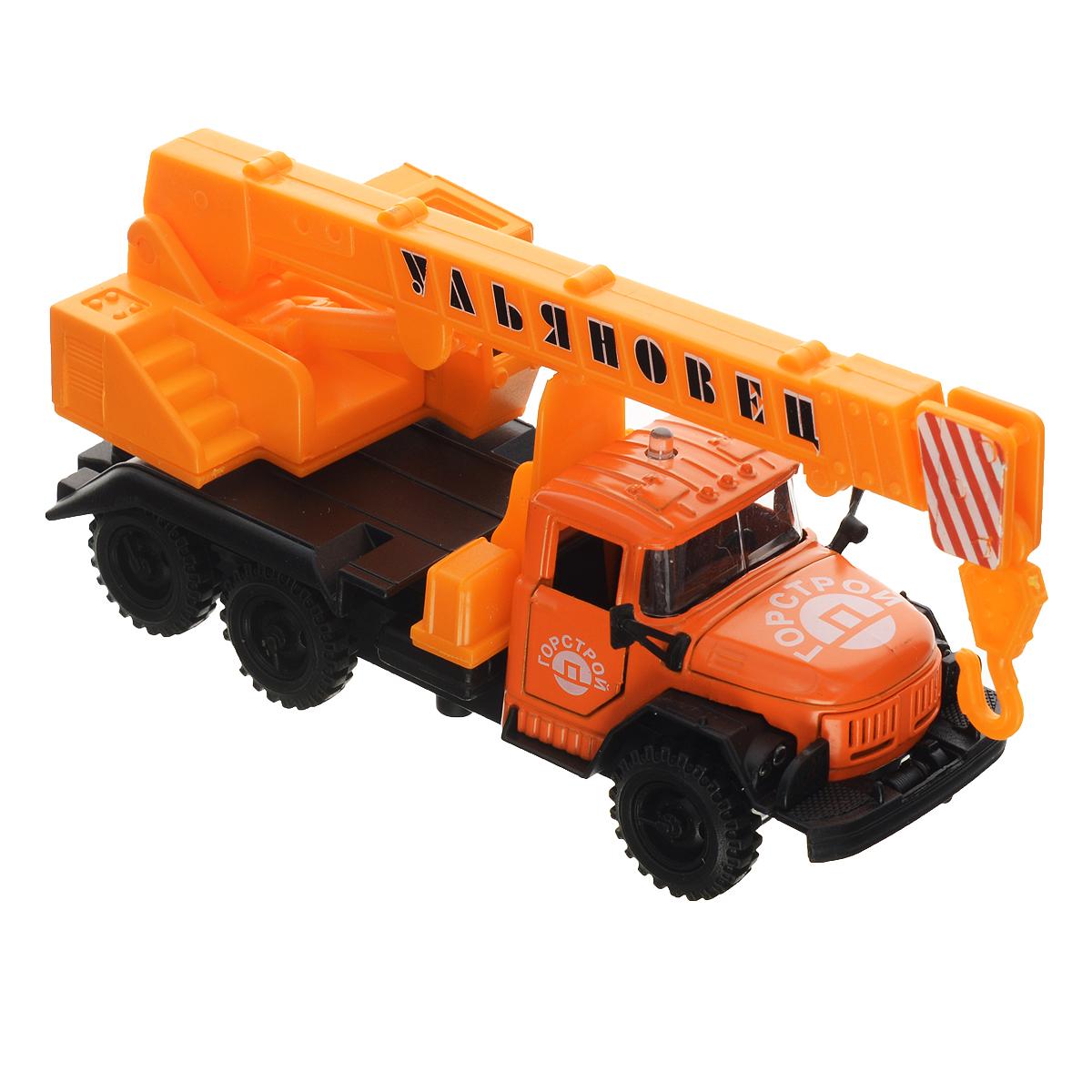 ТехноПарк Автокран ЗИЛ 131 игрушка технопарк зил 130 ct11 309 1