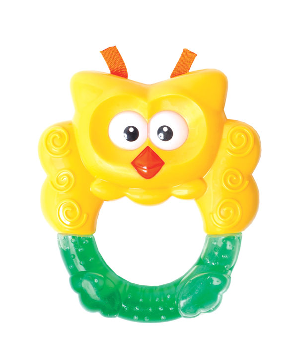 Игрушка с водой Мир детства Сова вибрирующая игрушка мир детства бегемотик