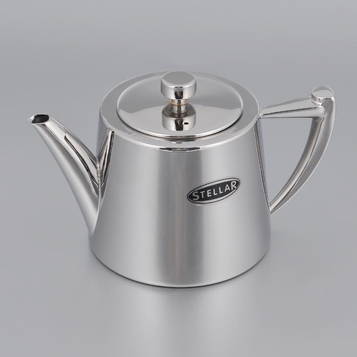 Чайник заварочный Silampos Art Deco, 600 мл41281318SC52Чайник заварочный Silampos Art Deco изготовлен из высококачественной нержавеющей стали с зеркальной полировкой. Благодаря специальному покрытию, тепло распределяется равномерно по основанию чайника.Классический стиль и оптимальный объем делают чайник Silampos Art Deco удобным и оригинальным аксессуаром, который прекрасно подойдет как для ежедневного использования, так и для специальной чайной церемонии.Можно мыть в посудомоечной машине. Диаметр чайника (по верхнему краю): 6,5 см.Высота чайника (без учета крышки): 9 см.Посуда Silampos производится с использованием самых последних достижений в области производства изделий из нержавеющей стали. Алюминиевый диск инкапсулируется между дном кастрюли и защитной оболочкой из нержавеющей стали под давлением 1500 тонн. Этот высокотехнологичный процесс устраняет необходимость обычной сварки, ахиллесовой пяты многих производителей товаров из нержавеющей стали. Вместо того, чтобы сваривать две металлические детали вместе, этот процесс соединяет алюминий и нержавеющей стали в единое целое. Метод полной инкапсуляции позволяет с абсолютной надежностью покрыть алюминиевый диск нержавеющей сталью. Это делает невозможным контакт алюминиевого диска с открытым огнем и активной средой некоторых моющий средств. Посуда Silampos является лауреатом многочисленных Португальских и Европейских конкурсов, и по праву сохраняет лидирующие позиции на рынке кухонной посуды в Европе и мире. Посуда изготовлена из нержавеющей стали с добавлением 18% хрома и 10% никеля. Посуду можно мыть в посудомоечной машине, использовать на всех видах плит (газовые, электрических, керамических и индукционных). Оснащена специальным алюминиевым диском - Impact Disk, разработанным с применением передовой технологии соединения диска с дном кастрюли и защитной оболочкой из нержавеющей стали под высоким давлением. Выдерживают температуру до 600°С. Использование алюминиевого жарораспределяющего диска позволяет значитель