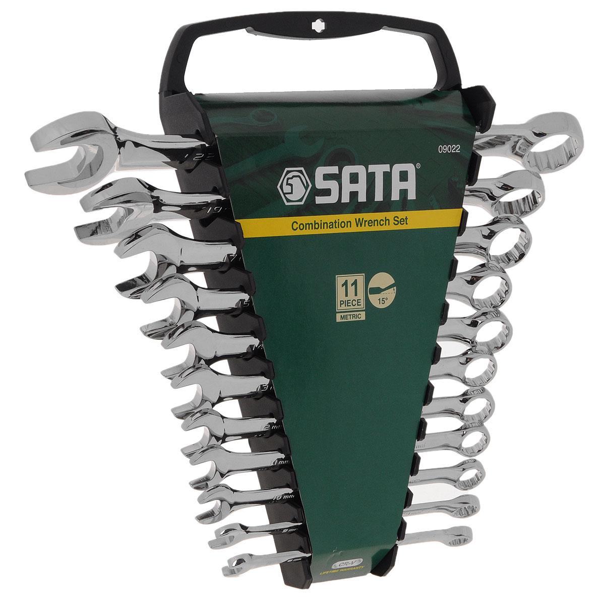 Набор ключей SATA 11пр. 09022 набор инструментов sata 56пр 09509