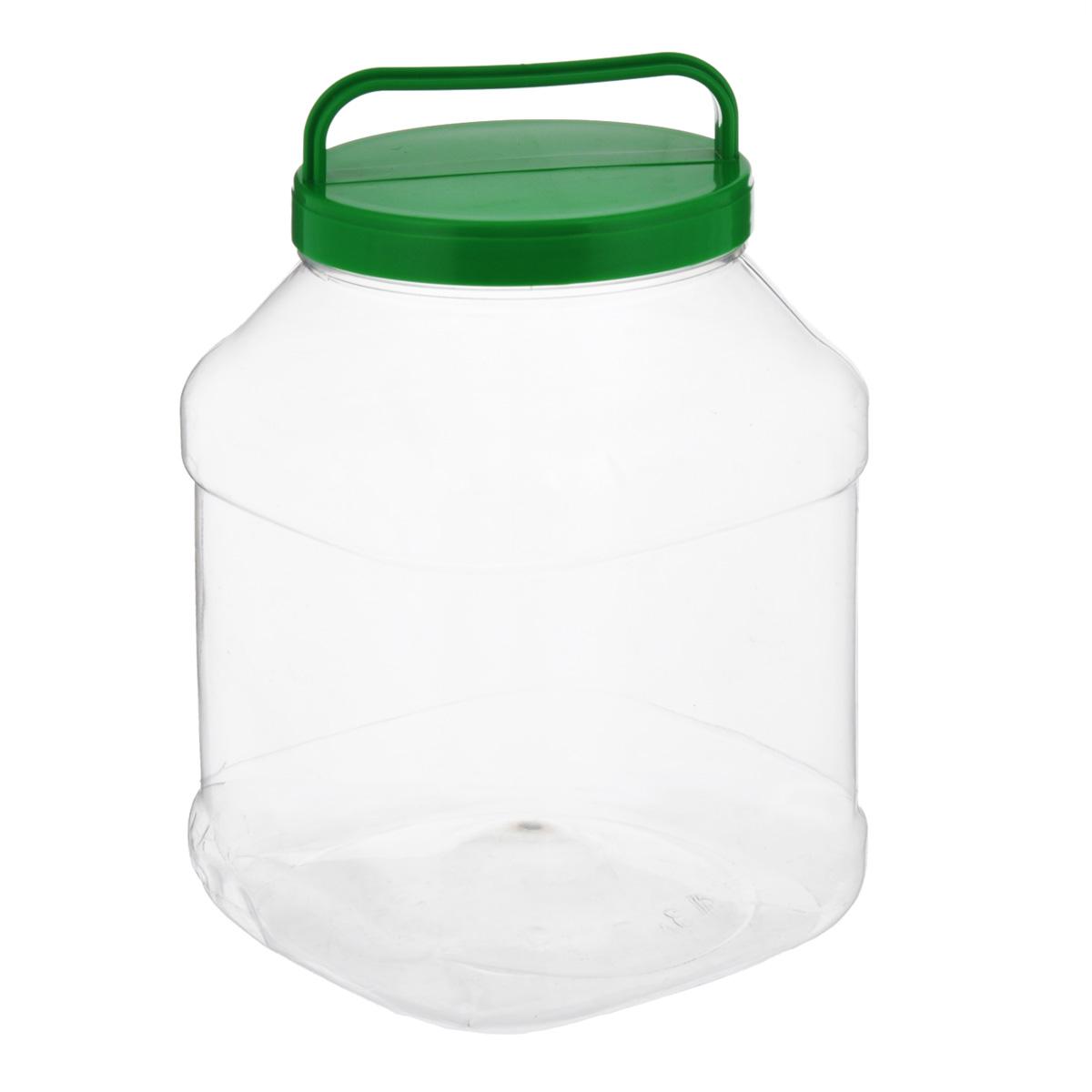 Бидон Альтернатива, прямоугольный, цвет: зеленый, 3 лМ463Бидон Альтернатива предназначен для хранения и переноски пищевыхпродуктов, таких какмолоко, вода и т.д. Изделие выполнено из пищевого высококачественного ПЭТ.Оснащен ручкойдля удобной переноски. Бидон Альтернатива станет незаменимым аксессуаром на вашей кухне.Объем: 3 л. Диаметр (по верхнему краю): 10,5 см.Высота бидона (без учета крышки): 19 см. Размер дна: 15 см х 15 см.