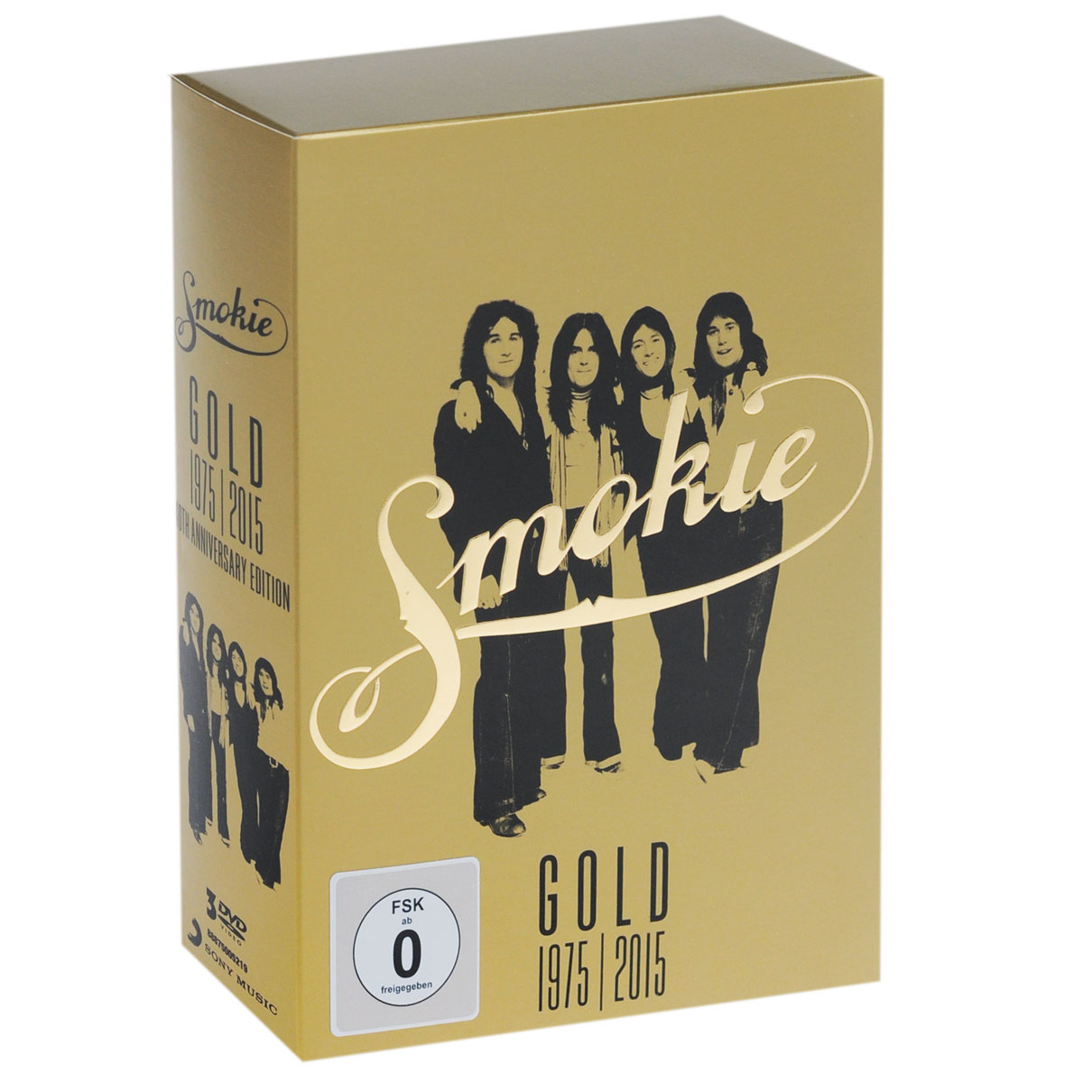 Smokie: Gold. 1975-2015. 40th Anniversary Edition (3 DVD) smokie smokie pass it around