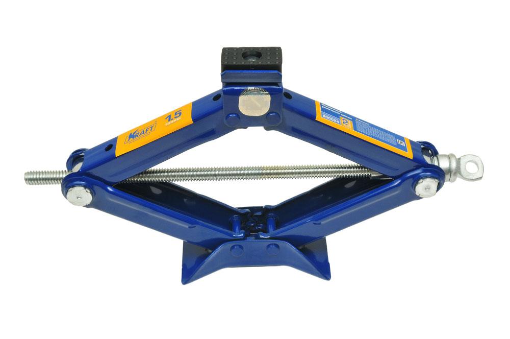 Домкрат ромбический Kraft КТ 800024, 1,5 тКТ 800024Механический ромбический домкрат Kraft предназначен для поднятия грузов. Домкрат отличается компактностью конструкции, простотой обслуживания и надежностью в эксплуатации. Домкрат имеет удобные ручки для плавного равномерного подъема при небольших усилиях.Технические характеристики:Грузоподъемность: 1,5 т.Высота подъема: 385 мм.Высота подхвата: 105 мм.Функциональные особенности:Высокая устойчивостьПрорезиненная площадкаУдобная ручкаМорозостойкость (-45°C)Комплектация:Механический ромбический домкрат.Рукоятка домкрата.Руководство по эксплуатации.
