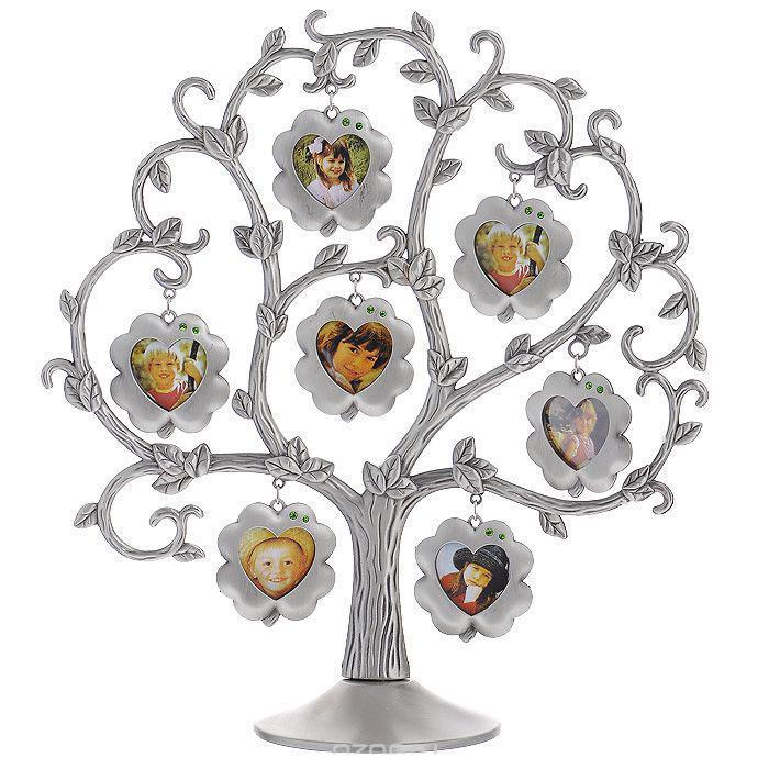 Декоративная фоторамка Цветок, 4 см х 4 см, на 7 фото. 46207702063254620770206325Декоративная фоторамка Цветок выполнена из металла серого цвета. На подставку в виде дерева подвешены 7 рамочек в форме цветов, украшенных стразами. Изысканная и эффектная, эта потрясающая рамочка покорит своей красотой и изумительным качеством исполнения. Декоративная фоторамка Цветок не только украсит интерьер помещения, но и внесет нотки изысканности и оригинальности. Характеристики:Материал: металл, стразы. Общий размер фоторамки: 25 см х 27,5 см. Диаметр основания: 9,5 см. Размер рамочки в форме цветка: 4,5 см х 5 см. Размер фотографии: 4 см х 4 см. Размер упаковки: 32,5 см х 34,5 см х 4,5 см. Артикул: 4620770206325.