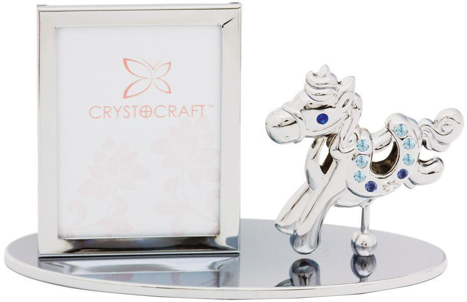 Фоторамка Crystocraft Лошадка фоторамки русские подарки фоторамка