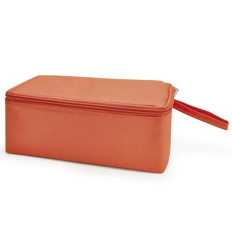 ТермоЛанчбокс NANO DUPLO (+ 2 герм.контейнера 0,45 л)/ Оранжевый