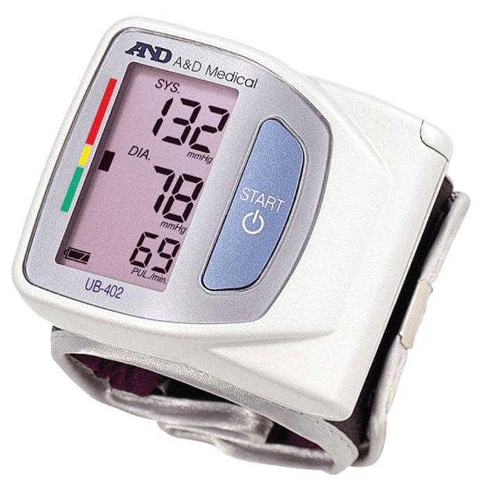 Тонометр автоматический на запястье AND UB-4026042035Тонометр AND UB-402 пользуется популярностью у людей с аритмией, так как в ней предусмотрен встроенный индикатор аритмии, предназначенный специально для того, чтобы своевременно проинформировать об имеющих место нарушениях частоты, а также измерить периодичность сердечных сокращений в процессе измерения. Кроме показаний об уровне давления, на экране отображаются данные о частоте пульса. Еще одна полезная функция – цветная шкала давления ВОЗ – позволяет сделать правильную оценку уровня вашего давления и соответствие этих данных классификации Всемирной организации здравоохранения: если результаты вашего измерения попадают в так называемый «красный» сектор, это сигнализирует о том, что визит к врачу откладывать не стоит – это может привести к неприятным последствиям для здоровья.Встроенная память тонометра AND UB-402 позволяет сохранять 30 последних измерений, что очень удобно для систематического анализа давления в соответствии с временем суток. Для того, чтобы процедура измерения была максимально комфортной и не причиняла неудобств, тонометр оснащен мягкой и удобной манжетой, а современная помпа устройства позволяет сократить время на измерение – всего за 30 секунд вы получаете точные данные об уровне вашего давления.