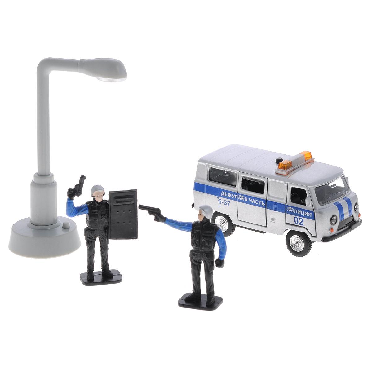 Игровой набор ТехноПарк Полиция: Дежурная часть технопарк игровой набор аэропорт