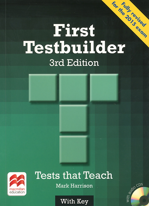 First Testbuilder: Student's Book with Key (+ 2 CD) first testbuilder student s book with key 2 cd