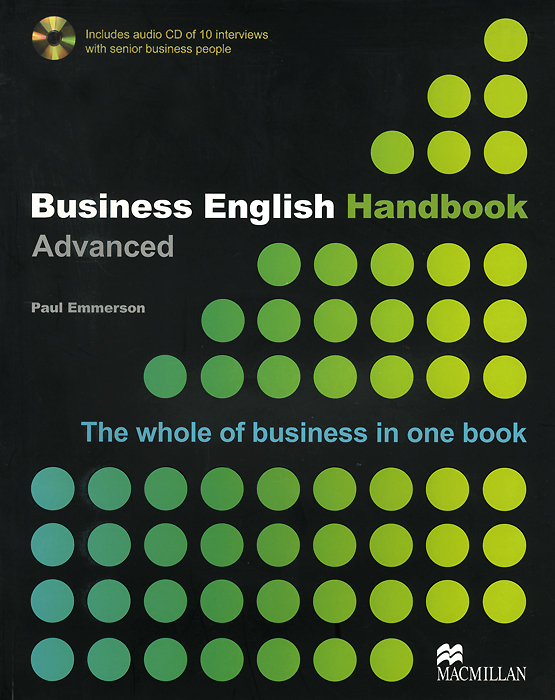 Business English Handbook Advanced (+ CD) cambridge english business benchmark upper intermediate business vantage student s book
