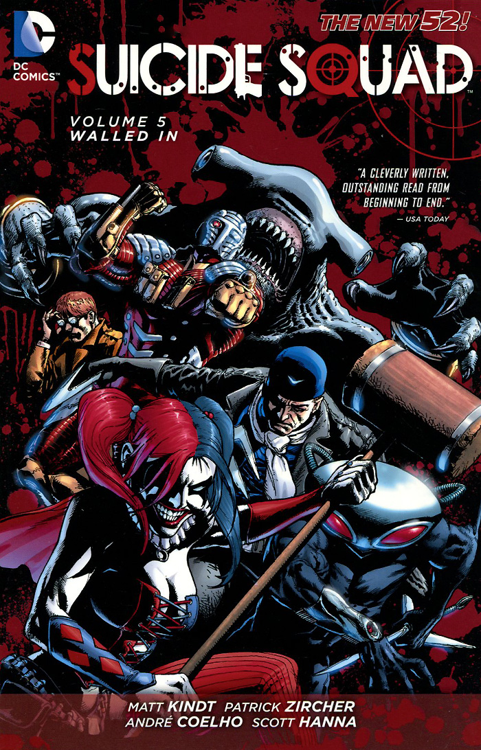 Suicide Squad: Volume 5: Walled In suicide squad volume 2 basilisk rising