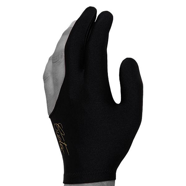 """Перчатка для бильярда Cuetec """"Pro"""", безразмерная, цвет: черный"""