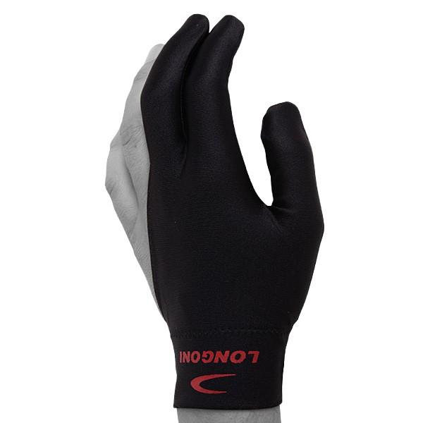 Перчатка для бильярда Longoni  Velcro , безразмерная, цвет: черный - Бильярд
