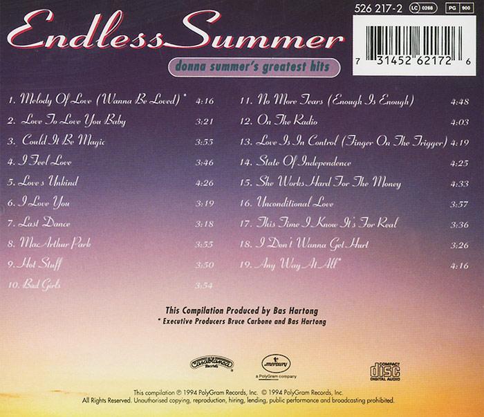 Donna Summer.  Endless Summer ООО