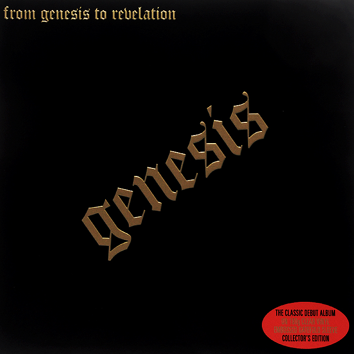 Genesis Genesis. From Genesis To Revelation (LP) часы nixon genesis leather white saddle