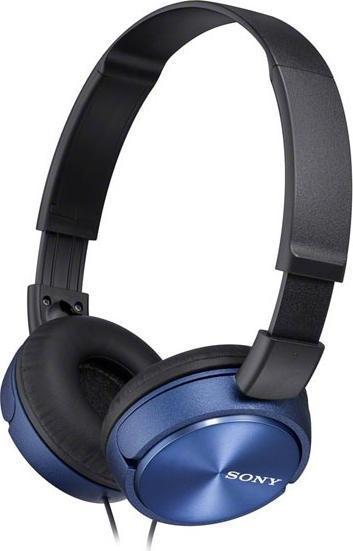 Sony MDR-ZX310, Blue наушники комплектующие и запчасти для ноутбуков sony tablet z2 sgp511 512 541 z1
