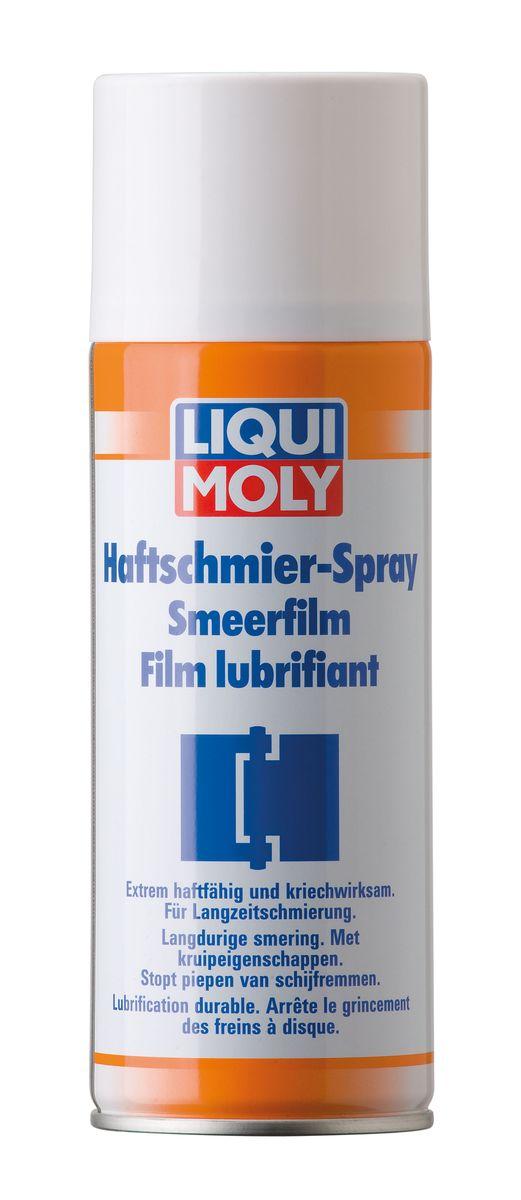 Адгезийная смазка-спрей Liqui Moly, 400 мл. 4084 грязеотталкивающая белая смазка liqui moly 400 мл