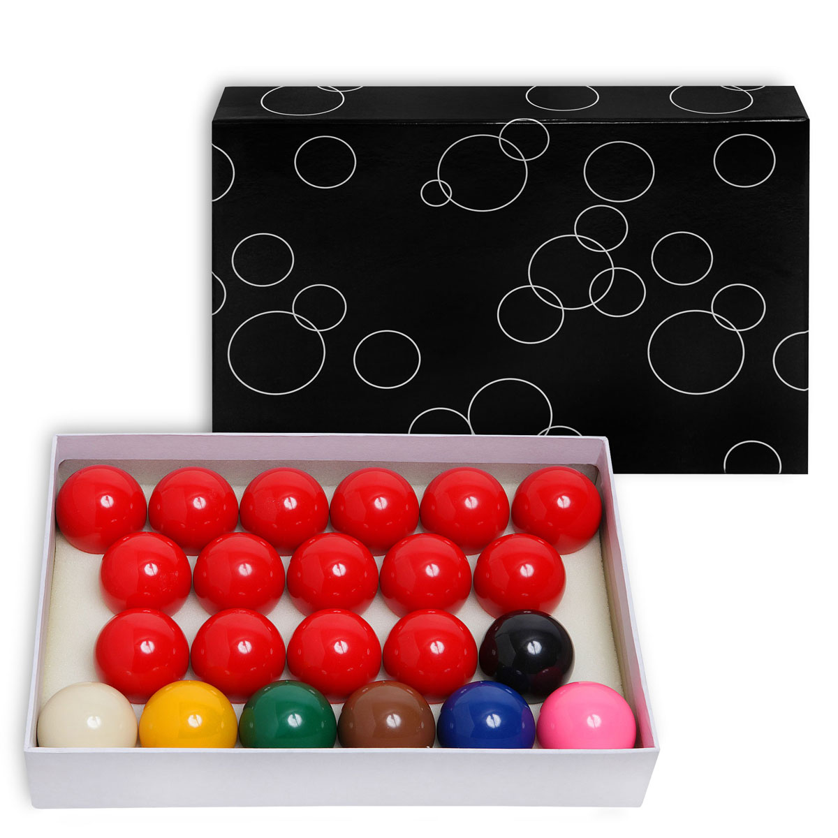 Бильярдные шары Standard Snooker, 52,4 мм в казани пенопластовые шары для поделок