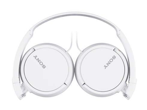 Sony MDR-ZX110AP, White наушникиMDRZX110APW.CE7Гарнитура закрытого типа с накладными амбушюрами, чашками с мягким уплотнителем и диапазоном воспроизводимых частот 12 Гц–22 кГц.