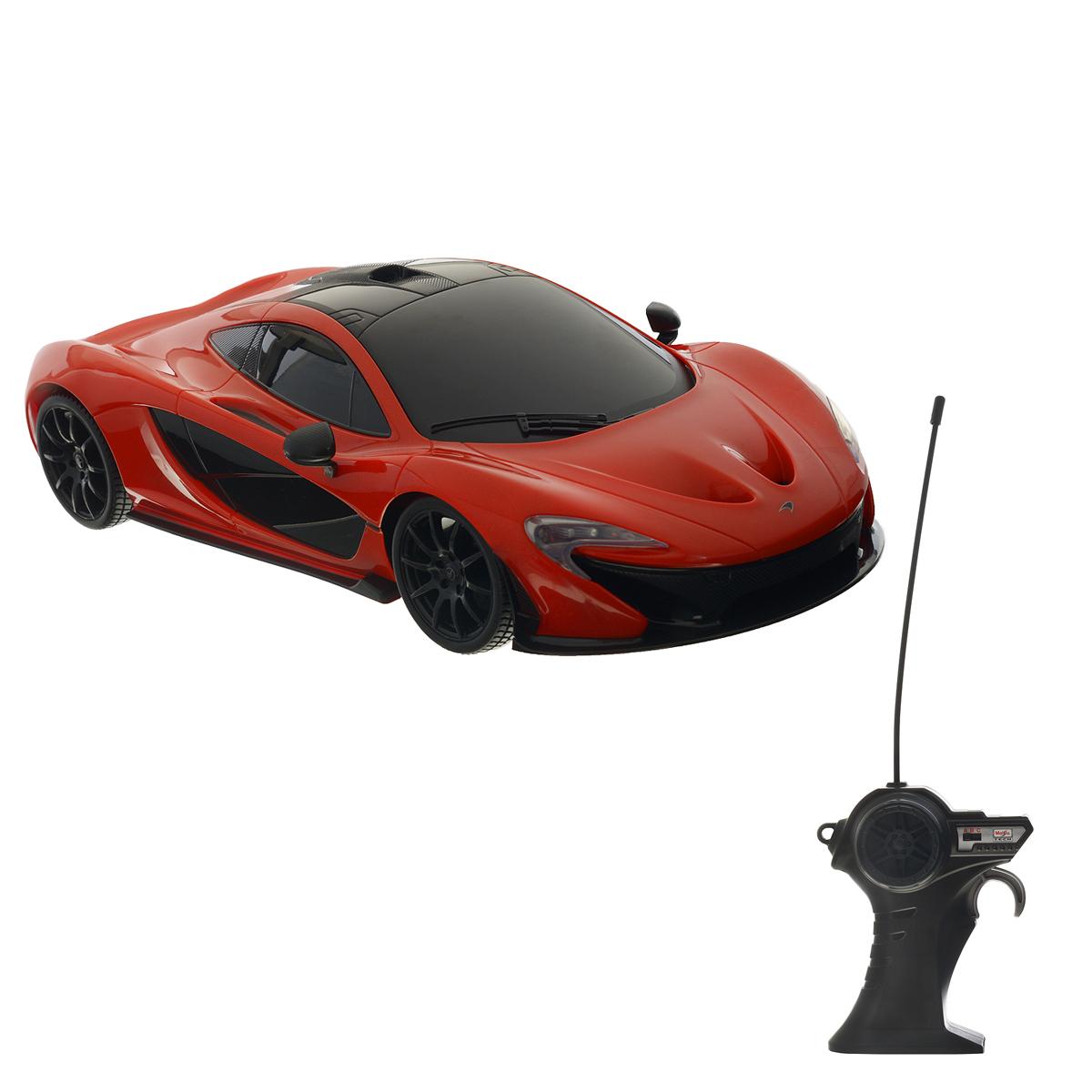 Maisto Радиоуправляемая модель McLaren P1 maisto радиоуправляемая модель ferarri ff цвет желтый