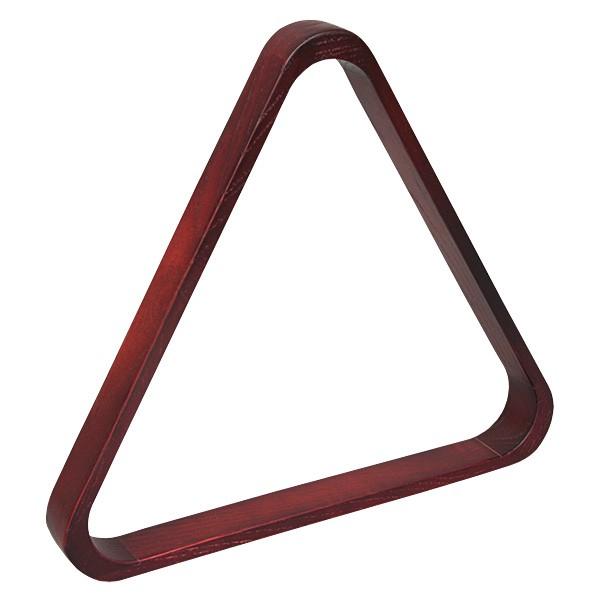 Треугольник для бильярда Skiba Classic, цвет: коричневый, красный, диаметр шаров 68 мм06230Треугольник - это один из обязательных аксессуаров для игры в бильярд. Skiba Classic предназначен для игры в русскую пирамиду при условии использования оборудования стандартных размеров (диаметр шаров 68 мм).Изготовленный из массива дуба, этот аксессуар ненавязчиво подчеркнет единство оформления бильярдной комнаты в классическом стиле.