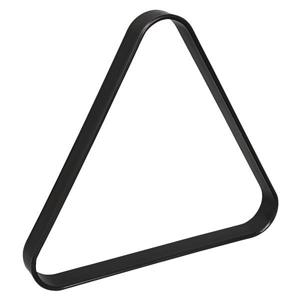 Треугольник для бильярда Skiba Junior, цвет: черный, диаметр шара 68 мм01638Треугольник - это один из обязательных аксессуаров для игры в бильярд. Skiba Junior предназначен для игры в американский пул при условии использования оборудования стандартных размеров (диаметр шаров 68 мм). Выполнен из пластика.