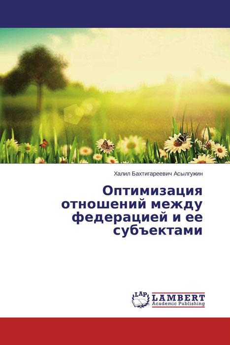 Оптимизация отношений между федерацией и ее субъектами организация отношений между большой и малой энергетикой