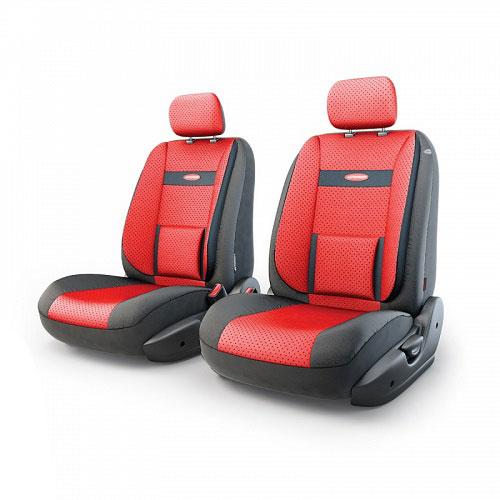 Авточехлы Autoprofi Трансформер Comfort, экокожа, цвет: черный, красный, 6 предметовTRS/COM-001G BK/RDЧехлы Autoprofi Трансформер Comfort - новая модель автомобильных чехлов. Главной особенностью их стала модульная конструкция, благодаря которой можно укомплектовать 5-, 7- или 8-местный автомобиль. Запатентованная конструкция чехлов с молниями и торцевыми клапанами позволит их адаптировать в автомобилях с любым кузовом - седана, минивена, кроссовера, внедорожника или универсала. Приэтом специальные клапаны закрывают торцы спинок и подлокотников, позволяя их складывать иобеспечивая плотное прилегание даже на нестандартных креслах.Немаловажно, что данная серия чехлов на автомобильное сиденье оснащена распускаемым боковым швом, что позволяет их использовать в автомобилях с боковой подушкой безопасности. Спинка и боковые части автомобильного чехла сделаны из экокожи. Из прежних наработок, полюбившихся автомобилистам, в данных чехлах сохранилось крепление крючками и липучками, которые прочно фиксируют чехлы на сиденье. Чехлы для переднего ряда серии Трансформер сочетаются со всеми чехлами заднего ряда этой серии.Комплектация: 2 подголовника, 2 спинки переднего ряда, 2 сиденья переднего ряда.Особенности: Толщина поролона: 5 мм.Карманы в спинках передних сидений.Предустановленные крючки на широких резинках.Крепление передних спинок липучками.Использование с боковыми airbag.Поясничный упор.Боковая поддержка спины.