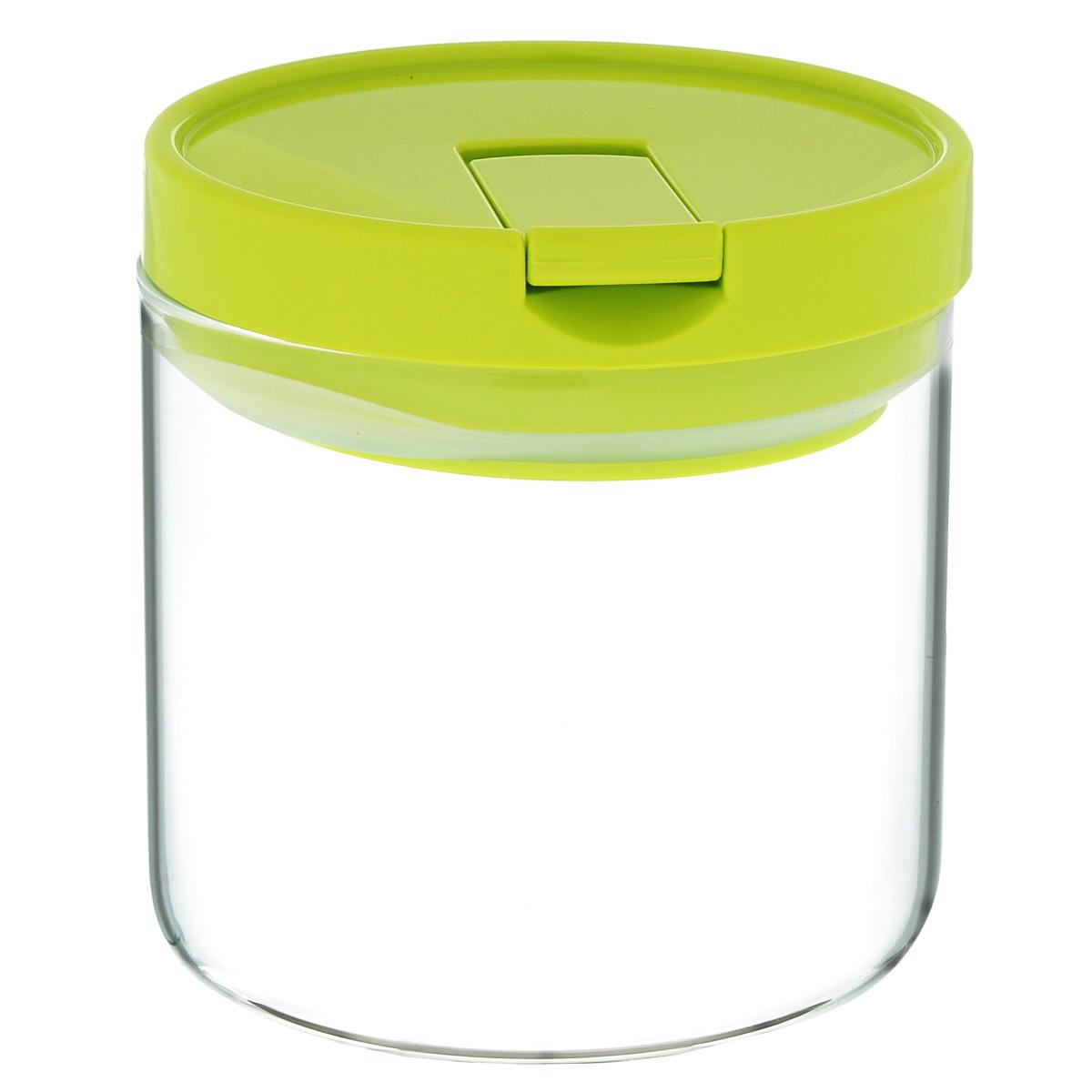 Емкость для хранения Iris Barcelona, 0,8 л4676-PЕмкость для хранения Iris Barcelona изготовлена из высокопрочного боросиликатного стекла. Емкость оснащена герметичной крышкой со специальным клапаном, благодаря которому внутри создается вакуум, и продукты дольше сохраняют свежесть и аромат. Клапан закрывается с громким щелчком.Стенки емкости прозрачные - хорошо видно, что внутри. Емкость идеально подходит для хранения различных сыпучих продуктов: круп, макарон, специй, кофе, сахара, орехов, кондитерских изделий.Подходит для микроволновой печи и посудомоечной машины.Объем: 0,8 л.Диаметр: 10,5 см.Высота (с крышкой): 11 см.