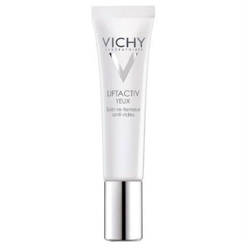 Vichy Крем для контура глаз Liftactiv Дерморесурс, 15 млM3504200Лифтактив Дерморесурс крем для контура глаз глобального действия против морщин, содержащий в своем составе Рамнозу, последнее инновационное компонент, созданный лабораторией Vichy, полученный естественным путем. Рамноза стимулирует Истинные Ресурсы кожи, тем самым достигая эффекта обновления, подтягивания кожи, разглаживания морщинок.Визуально уменьшает морщины, гусиные лапки, темные круги.Обладает длительным эффектом лифтинга