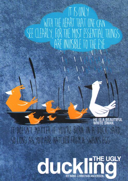 The Ugly Duckling: Notebook тонировочная пленка в нижнем