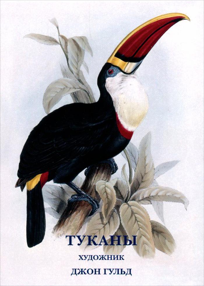 Джон Гульд. Туканы (набор из 15 открыток) рыбы набор из 15 открыток