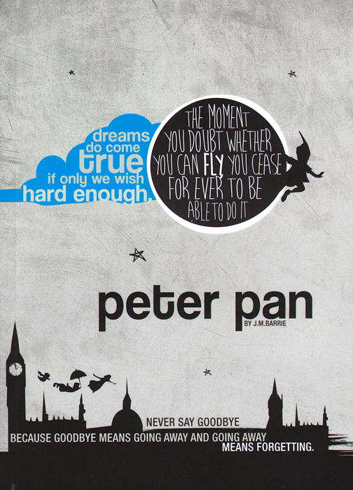 Peter Pan: Notebook тонировочная пленка в нижнем