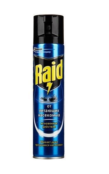 """Аэрозоль от летающих насекомых """"Raid"""", 300 мл"""