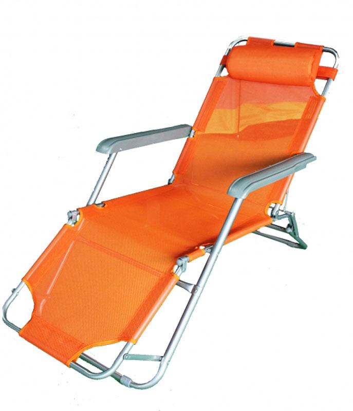 Кресло складное Woodland Lounger Textilene, 153 см х 60 см х 79 см0036509Складное кресло Woodland Lounger Textilene предназначено для создания комфортных условий в туристических походах, рыбалке и кемпинге.Кресло 3-х позиционное: лежа, полулежа, сидя.Регулируется с помощью рычагов на задней ножке.Особенности:Компактная складная конструкция.Прочный стальной каркас с покрытием, диаметр 19/25 мм.Ткань Textilene обеспечивает отличную вентиляцию.