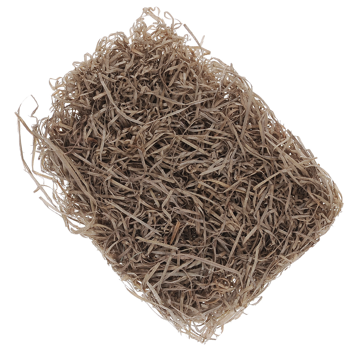 """Древесная стружка """"Hobby Time"""" является оригинальным натуральным  материалом для декора, флористики и упаковки подарков. Естественная  пластичная древесина из лиственных пород деревьев (без  смолы) при небольшом увлажнении становится податливым материалом,  которому можно придать необходимую форму. Тонкая стружка, сухая,  экологически чистая, специально подготовленная. Могут встречаться волокна  более темного или серого цвета - это нормально для натуральной древесины,  которая со временем темнеет при контакте с воздухом. Стружка окрашивается в различные цвета и часто применяется в ландшафтном  дизайне, изготовлении цветочных композиций, подарочных корзин,  декорировании цветочных горшков, рамок, стен, в скрапбукинге, для упаковки  хрупких предметов и много другого.  Такой материал можно комбинировать с различными аксессуарами, как с  природными - веточки, шишки, скорлупа, кора, перья так и с искусственными -  стразы, бисер, бусины. Уникальная токая структура волокон позволят создавать  новые формы."""