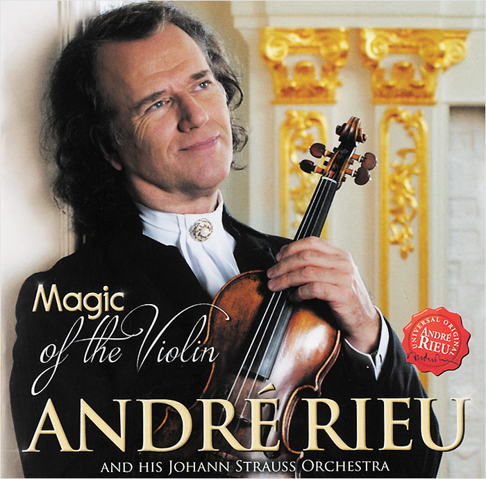 Андрэ Рье,Johann Strauss Orchestra Andre Rieu. Magic Of The Violin андрэ рье andre rieu strauss