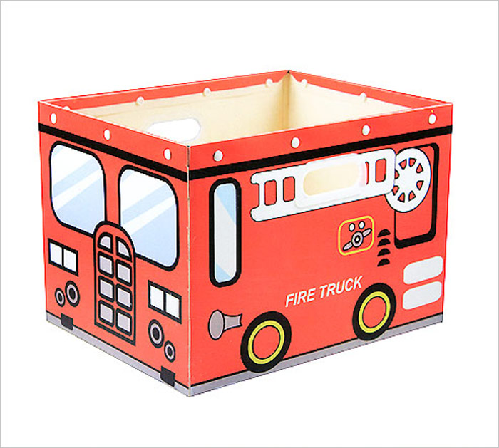 House & Holder Коробка для хранения Fire Truck цвет красный 38 см х 30 см х 27 см -  Товары для хранения