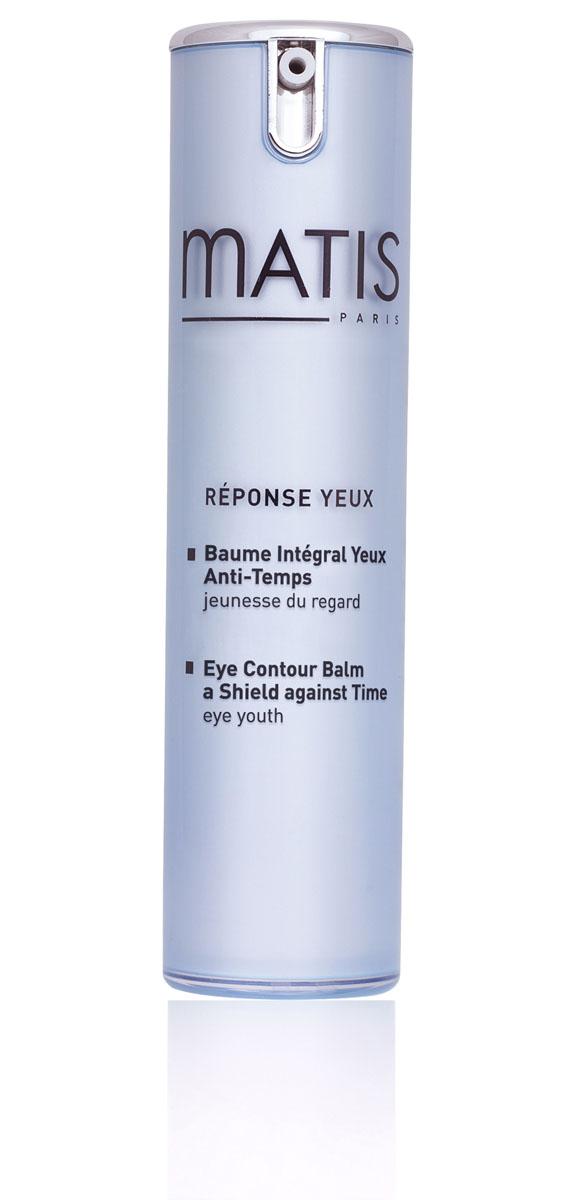 Matis Контурный бальзам для глаз 15 мл37548Контурный бальзам для сохранения молодости кожи век. Богатый натуральный состав позволяет эффективно бороться с морщинками, мешками под глазами, предотвращать обезвоживание кожи и восстановить её здоровый цвет. Бальзам обладает сильными восстанавливающими свойствами, возвращает коже эластичность и упругость, защищает кожу век от раздражений внешней среды. Составляющие бальзама снижают скопления жировых отложений в зоне нижнего и верхнего века, помогают восстанавливать эластин и коллаген, что предохраняет кожу от потери тонуса и упругости. Бальзам содержит экстракт иглицы понтийской, что позволяет воздействовать на венозную и лимфатическую микроциркуляцию, улучшать дренаж, снимая отёчность в зоне вокруг глаз. Без отдушек. Комплекс для глаз (силанолы, центелла азиатская, экстракт иглицы), Фукогель, Экорегулирующий комплекс Биоэколия.Наносить утром и/или вечером на тщательно очищенную кожу вокруг глаз.
