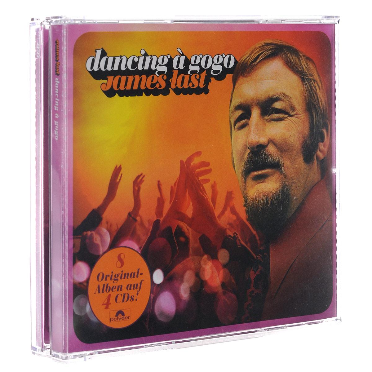 James Last. Dancing A Gogo (4 CD) cd james farm city folk