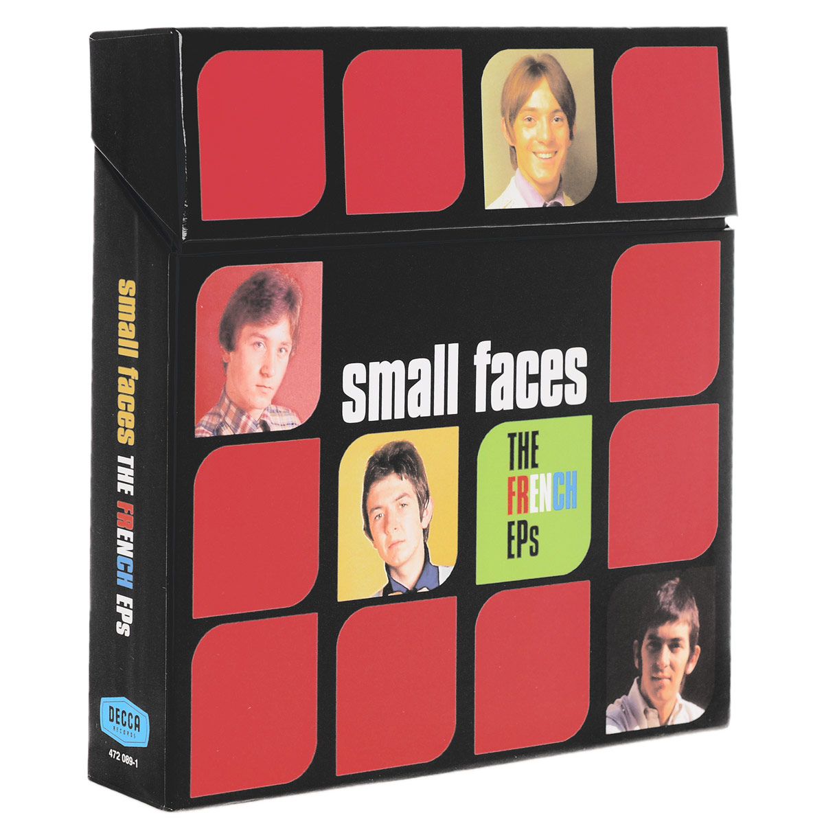 The Small Faces  .  French Eps (5 LP)