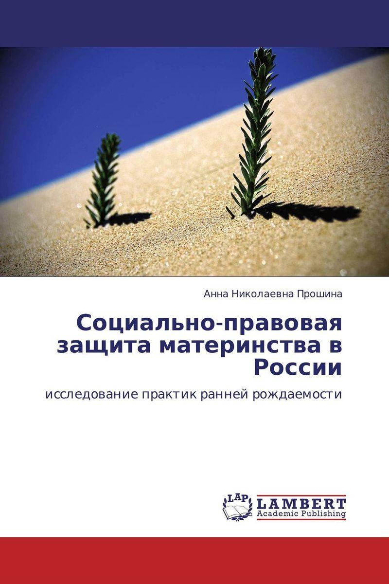 Социально-правовая защита материнства в России