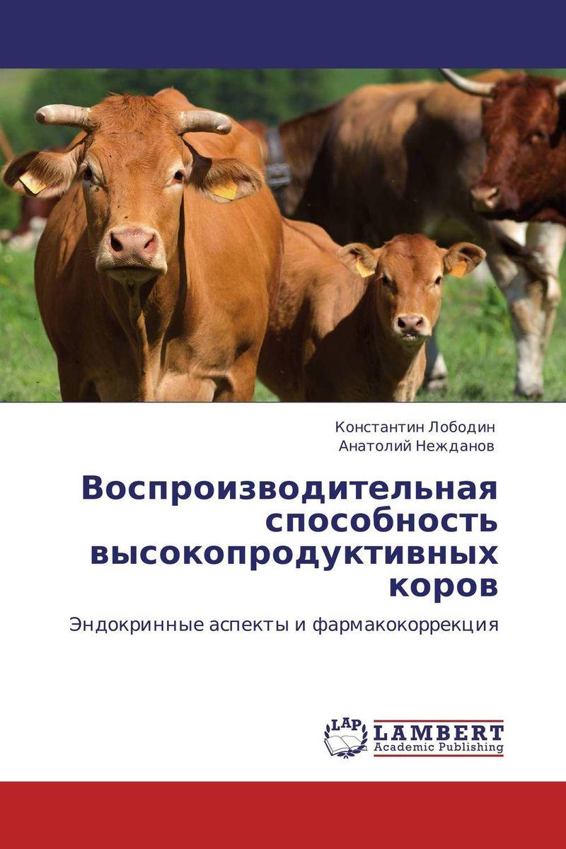 Воспроизводительная способность высокопродуктивных коров